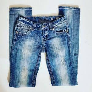 Miss Me Distressed Straight Leg Vintage 17 Jeans